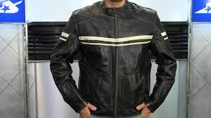 river road hoodlum vintage leather jacket motorcycle super