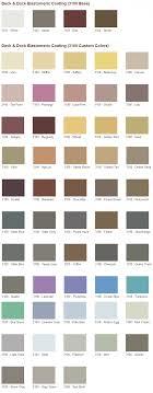 Coral Paint Color Chart Superdeck Deck Dock Elastomeric Coating Custom Colors