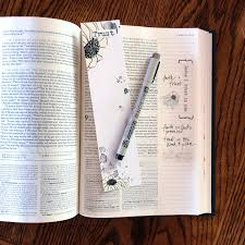 is journaling a word my bible journaling habit