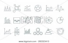 Trending Graph Business Graph Icon Vector Photo Free Trial Bigstock