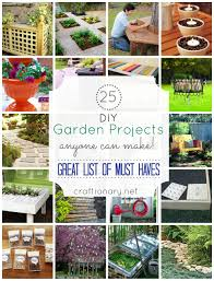DIY Garden Crafts & Outdoor Decoration IdeasTutorial Roundup