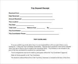 Deposit Receipt Sample Magdalene Project Org