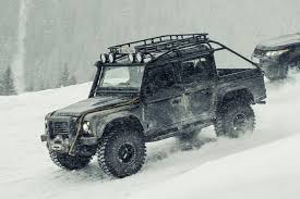 One Of 10 Built And Eight Extant Land Rover Defender SVX For The  Filming E