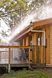 designed for maximum home fire protection professional installation of the platypus bushfire sprinkler system