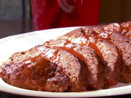 Meanwhile, heat olive oil and tomato paste over medium heat for one minute. Barbeque Meatloaf Recipe Paula Deen Food Network Food Network Recipes Recipes Bbq Meatloaf