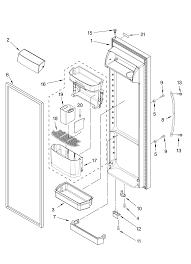 wiring diagram ge side by side refrigerators the wiring diagram Kenmore Elite Refrigerator Wiring Diagram refrigerator door bin spring for bin 2318853 (2313390) for, wiring diagram wiring diagram for kenmore elite refrigerator