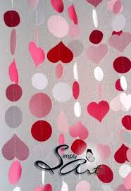 valentines office ideas. Items Similar To I Love You Garland Set Of TWO Pink Red White Hearts And Polka Dots SWEET Wedding Birthday Anniversary Home Office Decoration - Eco Friendly Valentines Ideas E