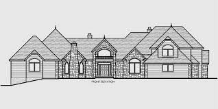 House Plan W3603 Detail From DrummondHousePlanscomFour Car Garage House Plans
