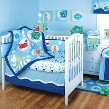 ocean nursery decor calypso baby crib bedding by beach fish themed room