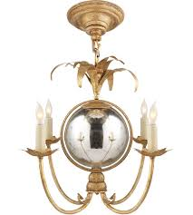 visual comfort chc5370gi e f chapman gramercy 4 light 17 inch gilded iron chandelier ceiling light
