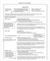 Resume Format Reverse Chronological In 40 Resume Format Awesome Reverse Chronological Resume