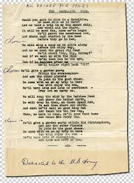 Song Lyrics United States Army The Army ...