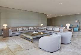 ocean front luxury condo with architectural project by cesar pelli interior design of all the residential units mon areas and amenities