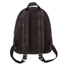 Black Faux Leather Quilted Backpack | Claire's US & ... Black Faux Leather Quilted Backpack, Adamdwight.com
