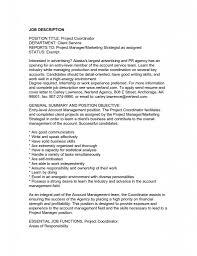 Cover Letter Restaurant Manager Responsibilities General Job