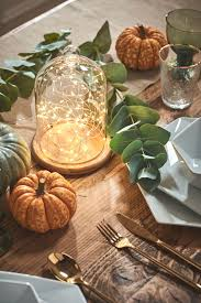 Glass Pumpkins Decor With Micro Lights Micro Fairy Light Large Bell Jar Bundle In 2019 Home Ideas