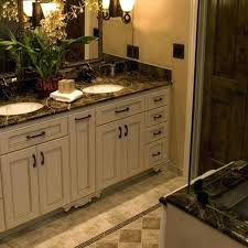 White Bathroom Cabinets With Dark Countertops This Gorgeous Bathroom