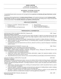 example systems analyst resume samples  seangarrette coexample
