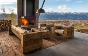 rustic wooden outdoor furniture. Rustic Wooden Patio Furniture Outdoor O