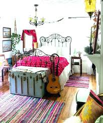 Bohemian Bedroom With A Rattan Bed And Large Boho Frame Diy – House ...