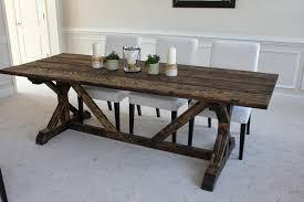 diy outdoor farmhouse table. DIY FarmHouse Table Designs Diy Outdoor Farmhouse