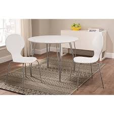 dhp bentwood wood dining chair in natural set