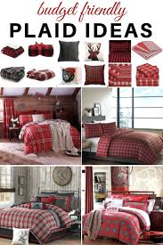 plaid ideas bedroom this collection of plaid bedding will create a warm and cozy space red plaid duvet covers red plaid duvet covers king red plaid duvet