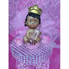 Ethnic Baby Girl Princess 1st Birthday Cake Topper Centerpiece