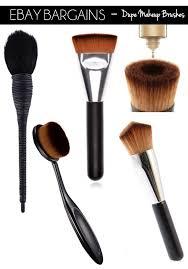 ebay dupe makeup brushes