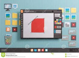 Graphic Designer Free Software Graphic Design Software Stock Photo Image Of Computer