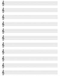 27 Images Of Violin Notes Staff Paper With Template Netpei Com
