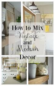 best 25 modern vintage decor ideas