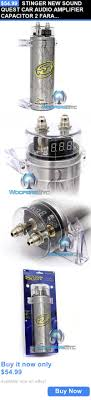 17 best ideas about car audio capacitor subwoofer capacitors stinger new sound quest car audio amplifier capacitor 2 farad digital cap buy it