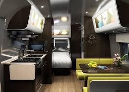 Airstream Interior Design Minimalist Impressive Inspiration Ideas
