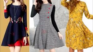 Frock Designs Gallery Skater Dress Design For 2018 Frock Designs For Girls 2018 Latest Kurti Design Images Photo