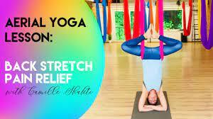 25 min aerial yoga lesson 0 lower
