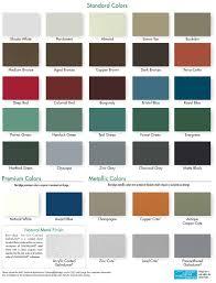 Aluminum Trim Coil Color Chart Aluminum Trim Coil Color Chart 2019