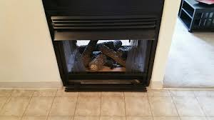 as a home inspector i am not required to light or extinguish fires this is not within our scope of responsibility i personally do operate gas fireplaces