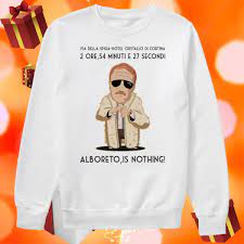 Guido Nicheli Alboreto Is Nothing Shirt • Birthday Shirts Idea Store
