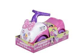 Roze Ride On Minnie Mouse Licht Geluid Kids Activiteit Gemaakt Van