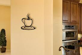 coffee cup metal wall sculpture on coffee kitchen metal wall art with metal wall art for kitchens cup of coffee steaming hot java
