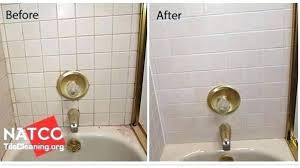 shower tile grout sealer new and before after within 9