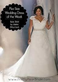 Oleg Cassini  Davidu0027s Bridal Collection  The Pretty Pear Bride Plus Size Wedding Dress Styles
