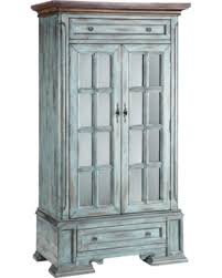 tall accent cabinet.  Tall Painted Treasures 2 Door Moonstone Tall Accent Cabinet To F