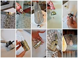 do it yourself lighting ideas. DIY Metal Light @cleverlyinspired (12) Do It Yourself Lighting Ideas 8
