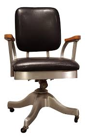 Office chair vintage Retro Chairish Vintage Shaw Walker Propeller Swivel Office Chair Chairish