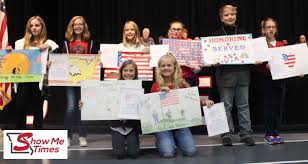 Winners of the 5th Grade Veterans Day Poster Contest
