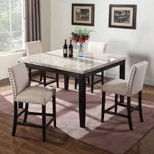 dining room chairs counter height. marble counter height dining table room chairs