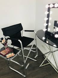folding makeup chair