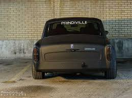 Rolls Royce Silver Shadow Customised With Matte Black By Prindiville